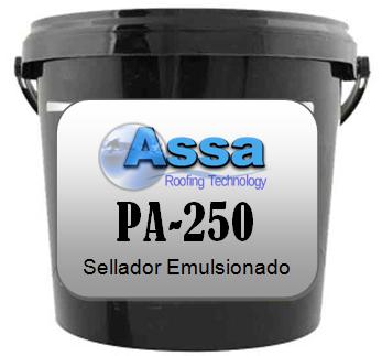 Sellador emulsionado para techos muy economico. Base agua.