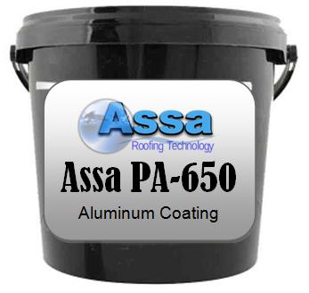 Aluminio liquido para trabajos y mantenimientos de techos residenciales e industriales.